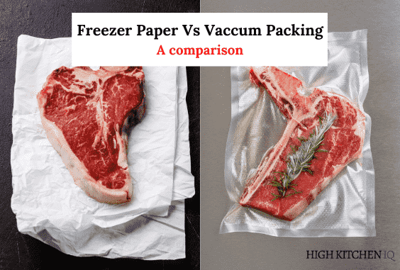 Freezer Paper vs Vacuum Pack