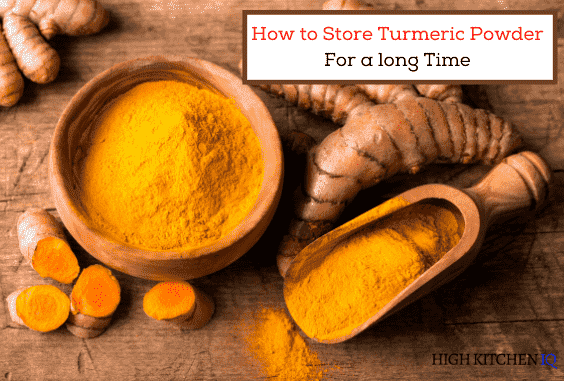 How to store Turmeric Powder For a long time