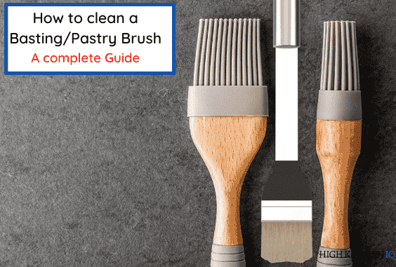 How to Clean a Pastry or Basting Brush